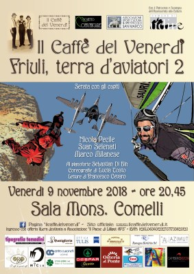 Locandina de il caffè del venerdì Friuli terra aviatori 2