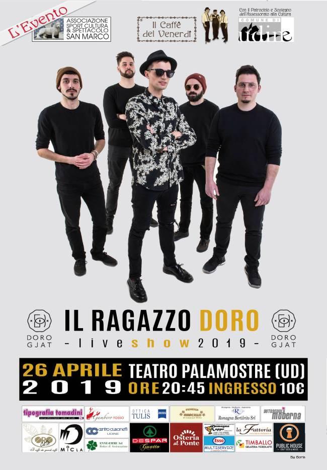 IL CAFFE'è DEL VENERDI' - LOCANDINA DORO GJAT 26/04/2019
