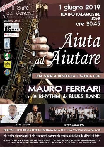 il caffè ddel venerdì: Serata con Mauro Ferrari e la Rhithm & Blues Band