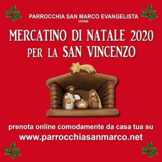 Mercatino di Natale 2020 per la San Vincenzo