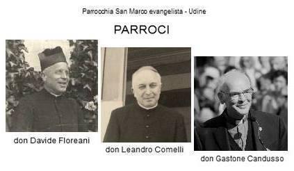 Parroci defunti parrocchia san Marcoia