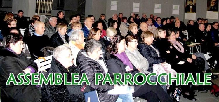 Domenica 24 marzo. Assemblea parrocchiale