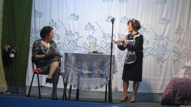 Spettacolo teatrale all'incontro della terza età, Viserba
