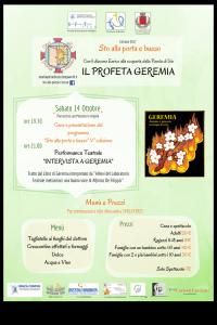STO ALLA PORTA E BUSSO- 5 EDIZIONE: GEREMIA