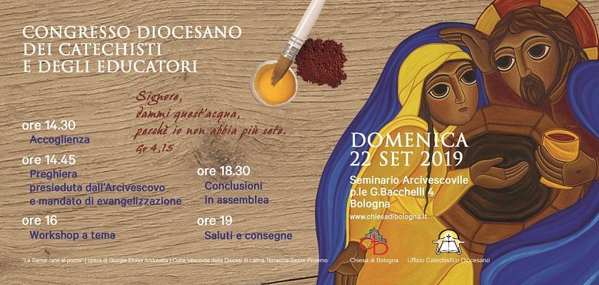 Congresso Diocesano dei Catechisti e degli Educatori-Domenica 22/09/19
