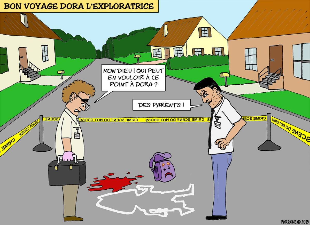 Bon voyage Dora l'exploratrice