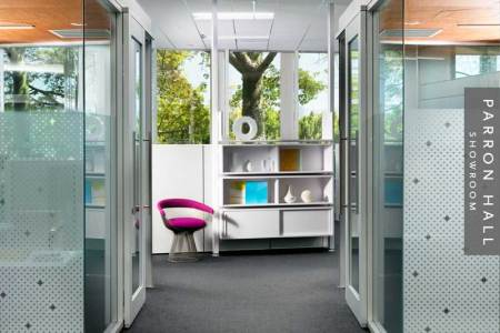 cool office interiors. New York City Meadows Office Interiors And Showroom  Cool Office Interiors Workspace Interior Designs With Orange Cool