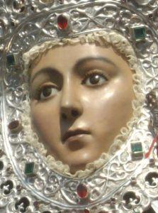 Virgen de la Fuensanta.9.Rostro