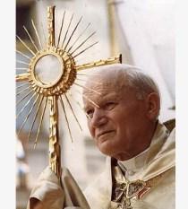 Juan Pablo II.Eucaristía.5