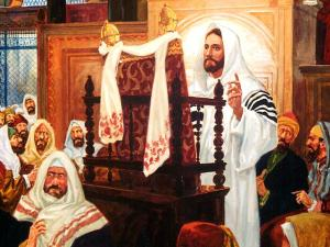Jesús.Sinagoga