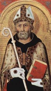 San Agustín, Obispo y Doctor de la Iglesia.