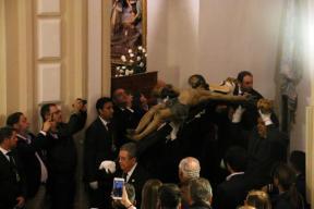 Descendimiento Stmo. Cristo del Amparo.(5-4-2017).010