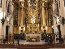 Navidad en la Parroquia de San Nicolás de Murcia. (Pulsando en la imagen se puede ver ampliada).