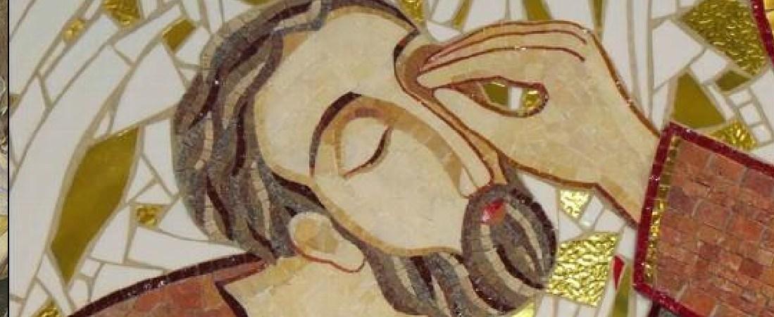 Jesús curo los ojos de Bartimeo