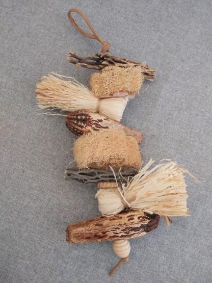 lil-sampler natural parrot toys