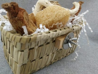 toy basket for side of cage