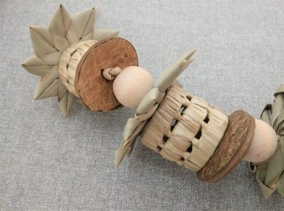 all natural foraging toy for birds