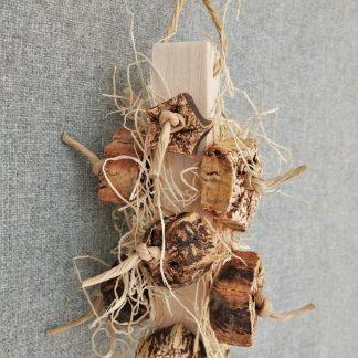 balsa wood natural bird toys