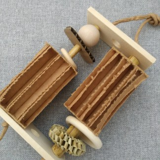 all natural toys for birds spinning toy