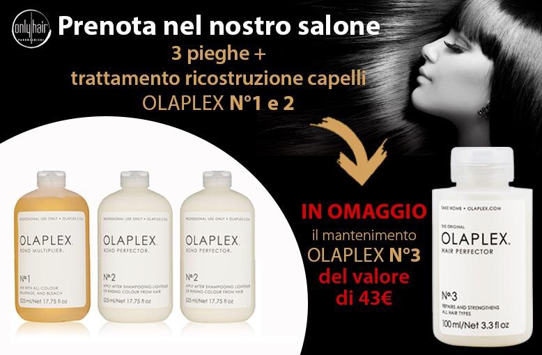 promozione OLAPLEX