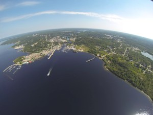 Parry Sound, Ontario, Canada - view from a seaplane