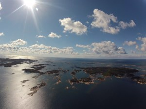 30,000 Islands at Parry Sound Ontario