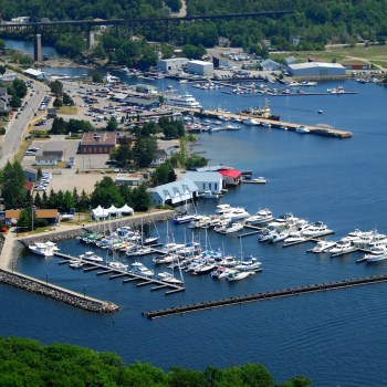Marina in Parry Sound