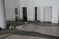 Danni al pavimento del salone