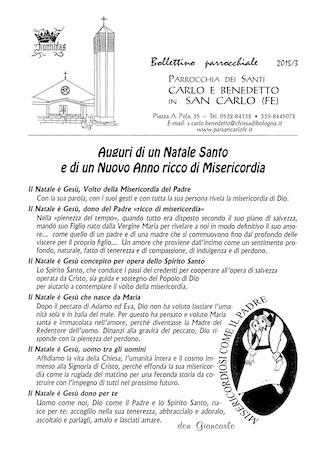 Bollettino Parrocchiale 2015/3