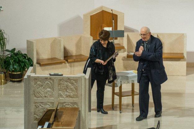 Silvia Grazioli e Don Giancarlo