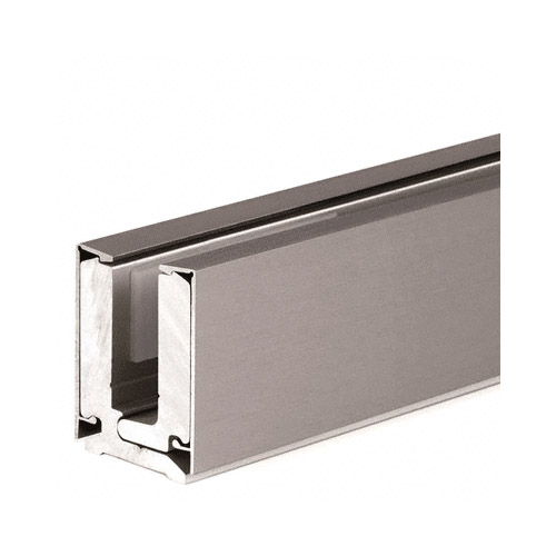 Brushed Nickel Anodized 4m Clamping U-Channel Profile