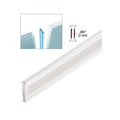 Clear Copolymer Strip for 180 Degree Glass-to-Glass Joints