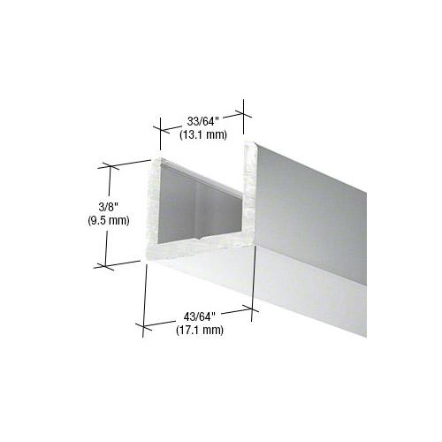 Frameless Shower Door Aluminum Regular U-Channel