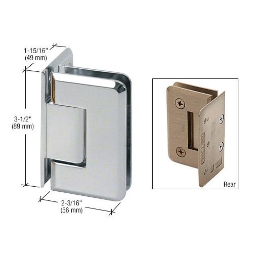 Pinnacle wall to glass hinge