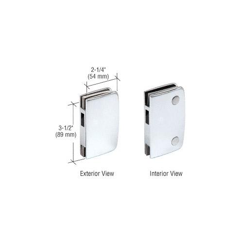 Polished Chrome Sliding Glass Door Keeper for PAR703CCH