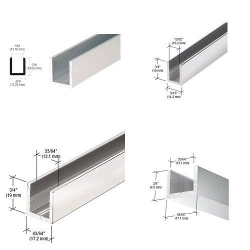 Shower Screen Channels