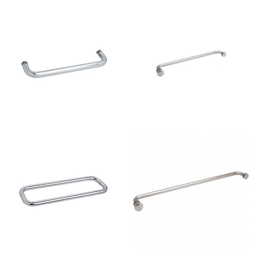 Shower Glass Towel Rails