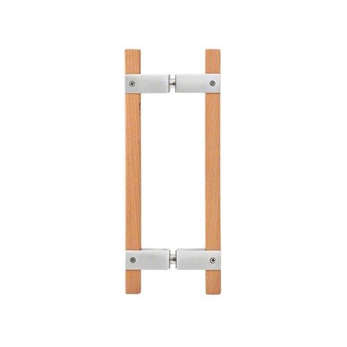 polished sauna door pull handle
