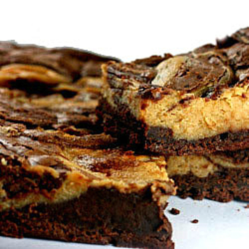 Peanut Butter Cheesecake Chunk Brownies