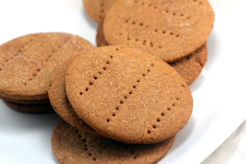 Homemade Graham Crackers for White Chocolate Key Lime Nanaimo Bars