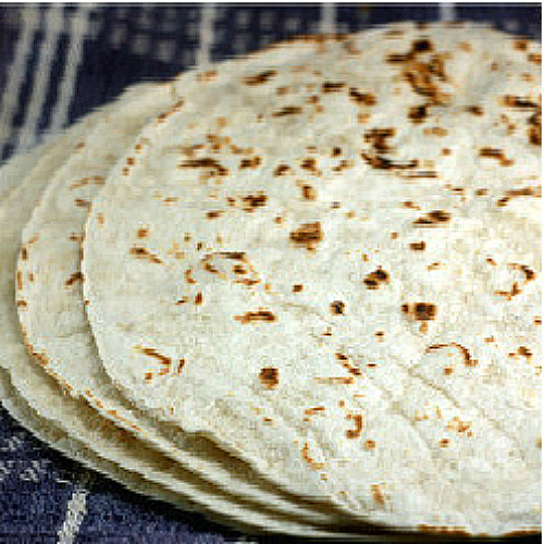 Homemade Flour Tortillas for Chicken Enchilada Bake