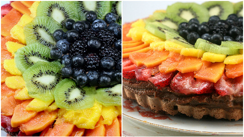TWO AMAZING PAVLOVA RECIPES! Tropical Passion Fruit White Chocolate Pavlova and Chocolate Pavlova Tart with Chocolate Mascarpone Mousse and Fresh Fruit