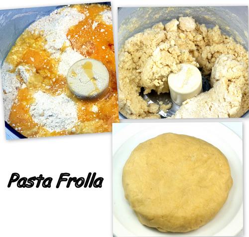 Pasta Frolla for Chocolate Toasted Walnut - Poached Pear Tart aka Crostata
