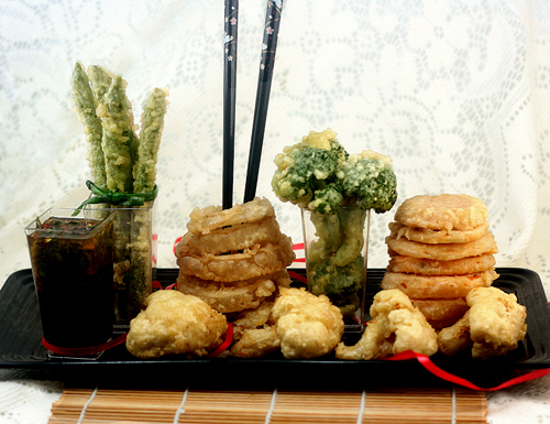 How to make the best tempura! From sweet potato to broccoli to onion to cauliflower to eggs!
