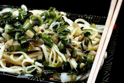 Fresh Ginger Garlic Scallion Noodles