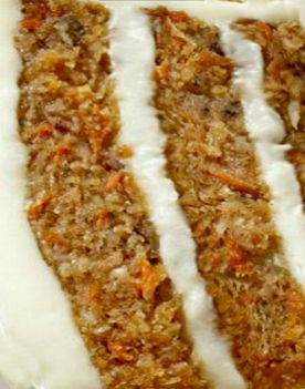 'Stick to your fork' MOIST Banana Carrot Cake with Cream of Coconut - Cream Cheese Frosting