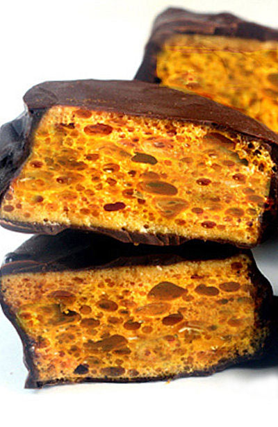 Homemade Sponge (aka Honeycomb) Candy