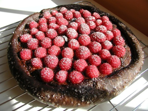 Chocolate Fruit Pizza for Bread Baking Day #47 Bread with Chocolate!