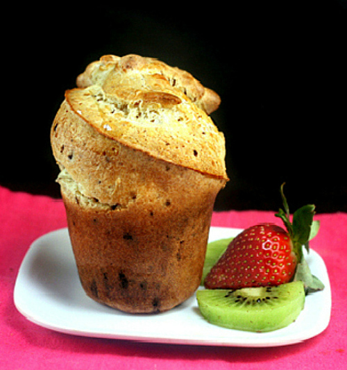 Mile High, Crazy Chocolate Flecked Popovers