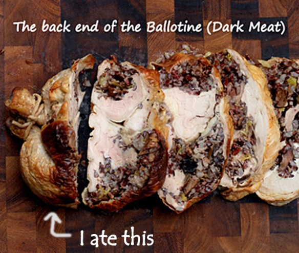 How to debone a whole Chicken with Minimal Cutting and Chicken Ballotine with Red Rice Stuffing